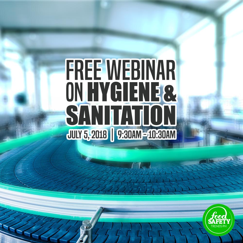Free Webinar on Hygiene & Sanitation