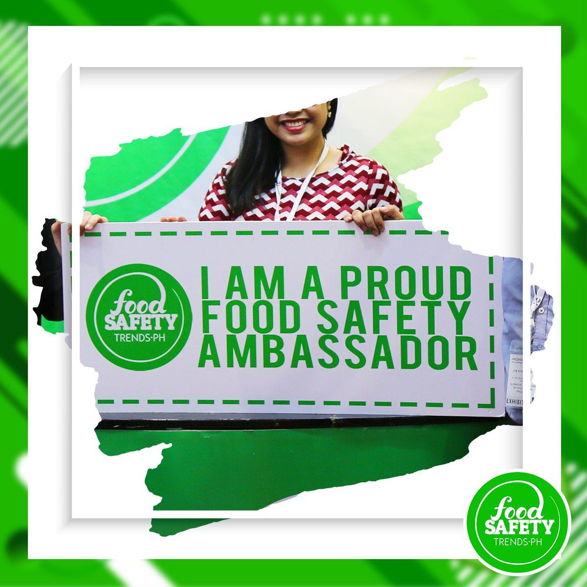 I am A Food Safety Ambassador
