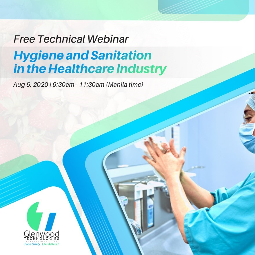 Free Webinar: Hygiene and Sanitation in the Healthcare Industry