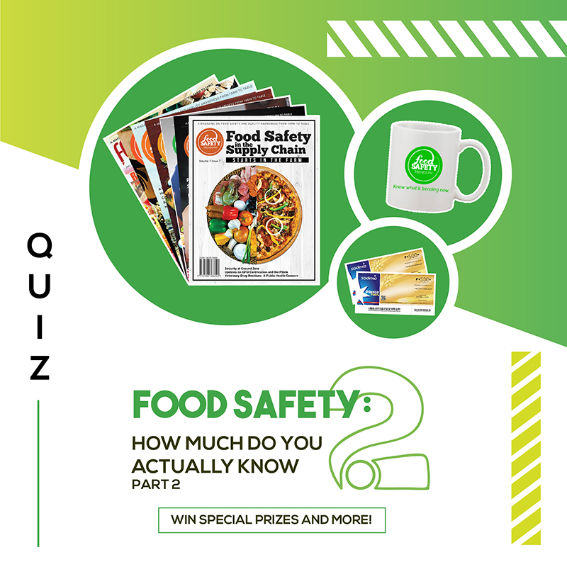 Food Safety: How Much Do You Actually Know? Part 2