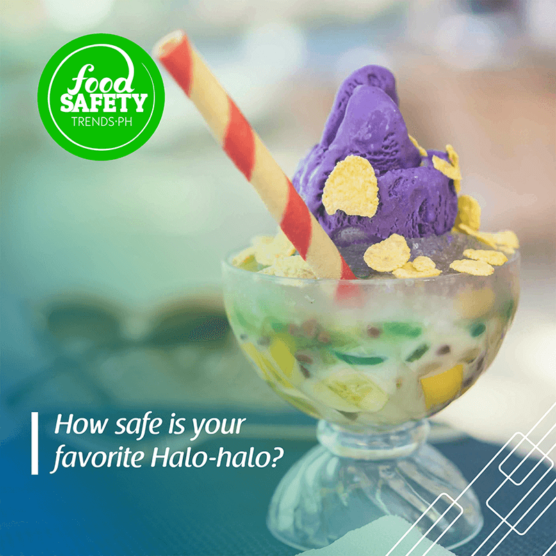 How safe is your favorite Halo-halo?